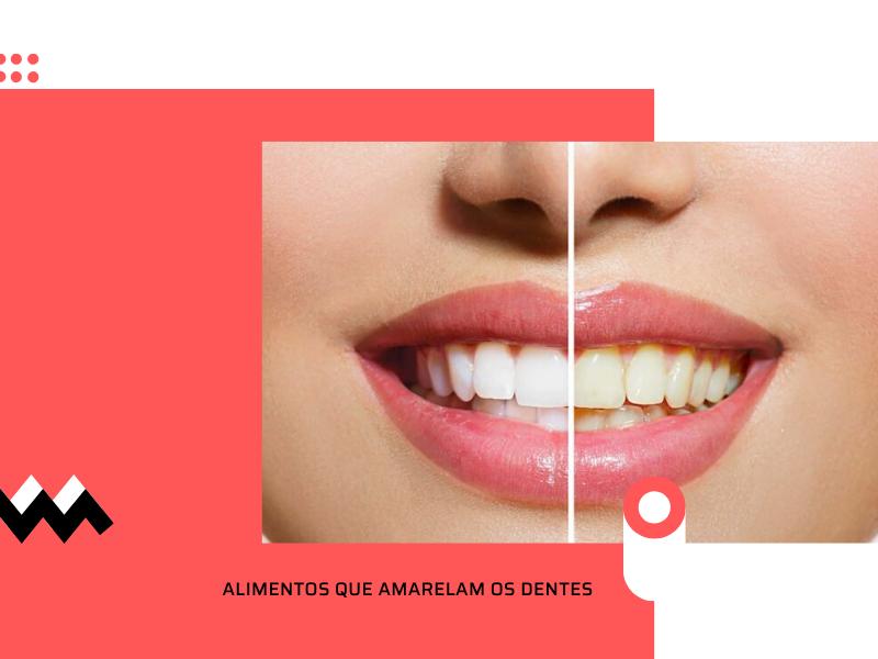 7 Tipos de alimentos que amarelam os dentes [ O ÚLTIMO VAI LHE SUPREENDER ]